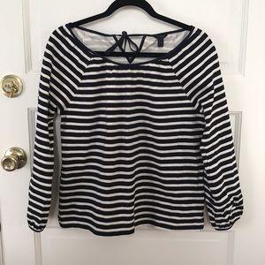 Jcrew striped top